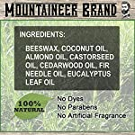 Heavy-Duty Beard Balm by Mountaineer Brand (2 oz)   Beard Tamer and Leave-in Conditioner   WV Timber Scent 3