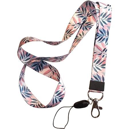 qianzhi Courroie De Téléphone Portable Lanière De Fleur Lanière pour Clés Id Carte S pour Porte-Badge USB DIY Hang Rope