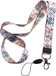 uu19ee Correa del teléfono móvil Flor Lanyard Correa para el Cuello para Llaves ID Card S For USB Badge Holder DIY Cuerda ...