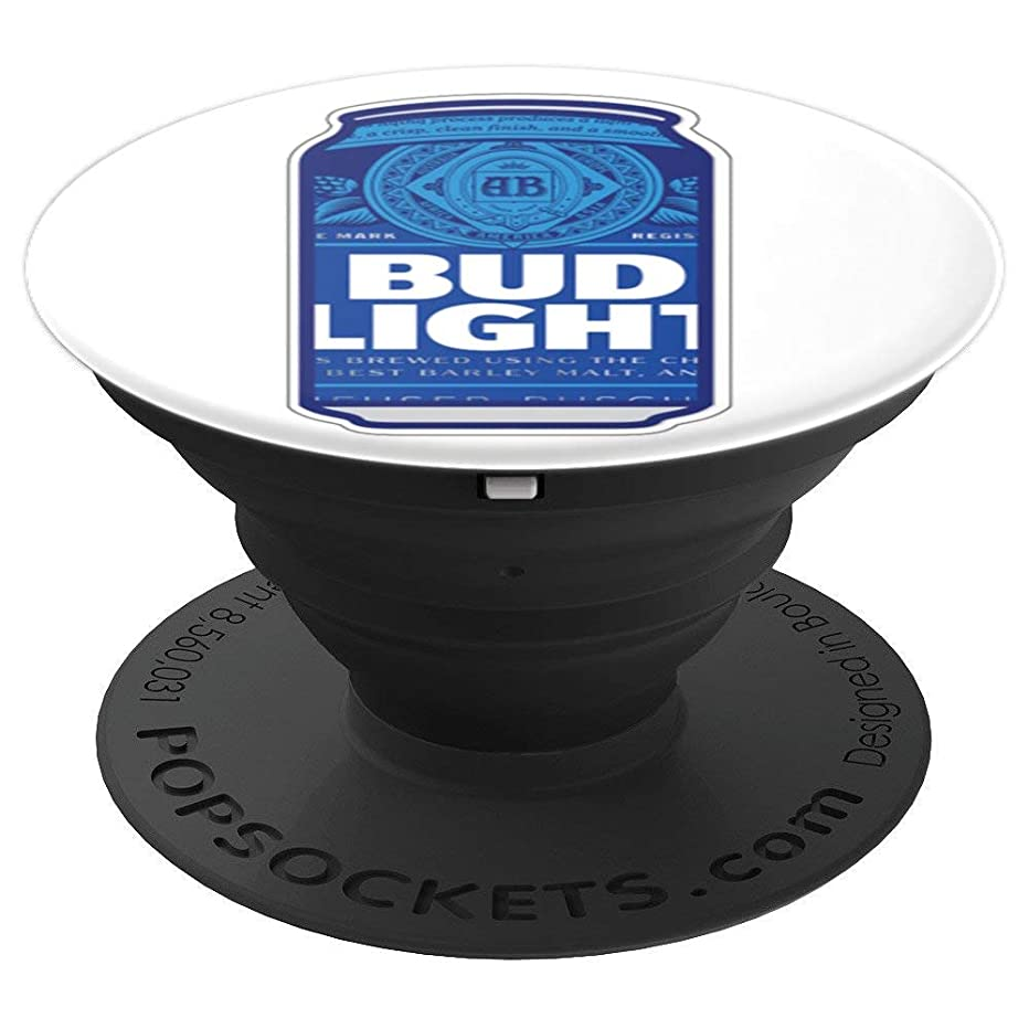 Bud Light Blue Can PopSockets Stand for Smartphones & Tablets - PopSockets Grip and Stand for Phones and Tablets