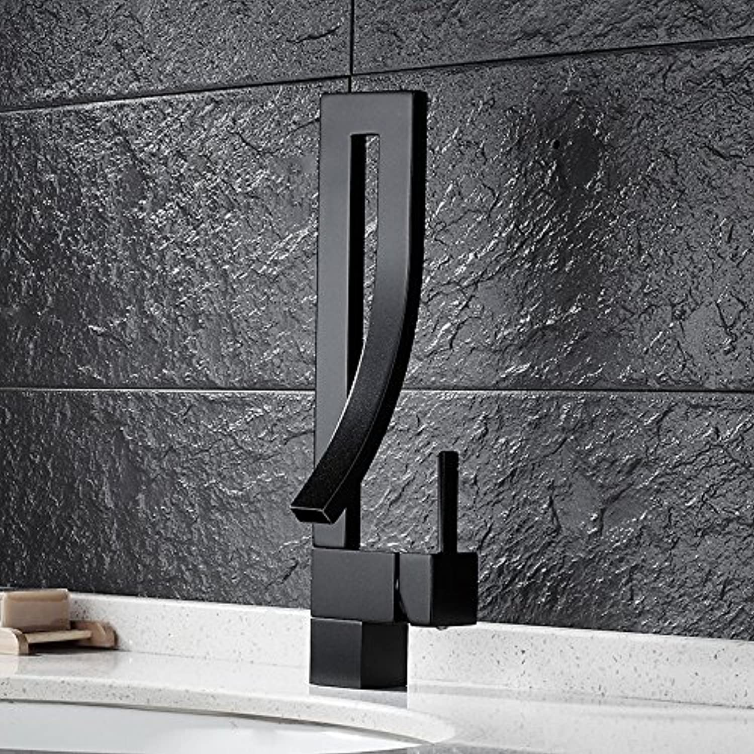 redOOY Faucet Taps Bathroom Faucet Bathroom Faucet Basin Hot And Cold Single Hole Faucet