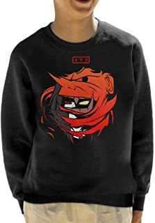 Cloud City 7 Itachi Susanoo Naruto Kid's Sweatshirt