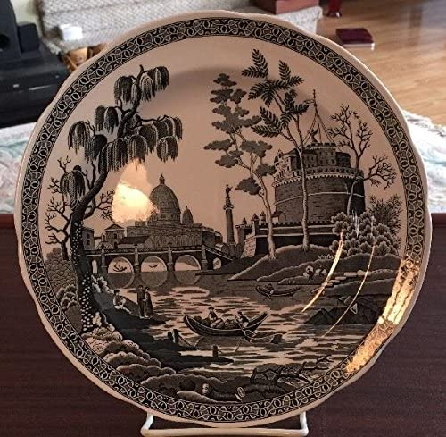 Spode Archive Collection Georgian Ranking TOP7 Series 40% OFF Cheap Sale Black Plate Rome Large