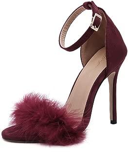 unyielding1 High Heels Open Toe Heels High Heel Sandals Platform Pole Dance Shoes