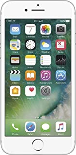 Apple iPhone 7, T-Mobile, 128GB - Silver (Renewed)