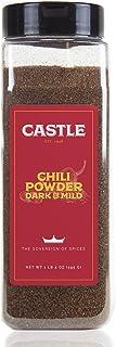 Sponsored Ad - Castle Foods  Chili Powder Dark & Mild Blend 21 oz Premium Restaurant Quality