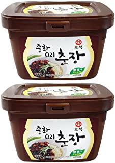 [ 2 PAcks ] Chinese Black Bean Paste Sauce, Jjajang 1.1 Pound [ Chunjang ] (500g) 중화요리 춘장