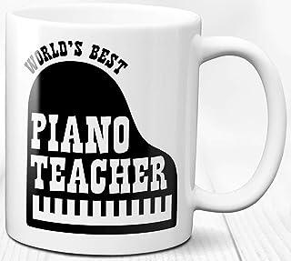 Taza de café para profesores de piano, 330 ml