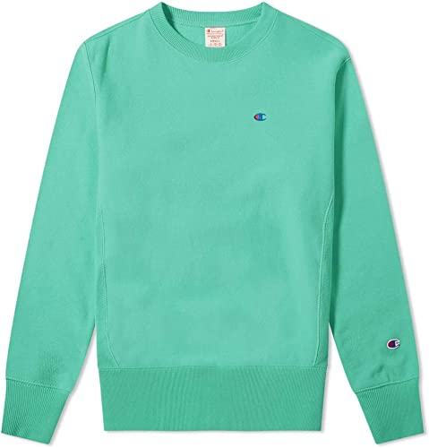 Champion Homme Reverse Weave vert Crewneck Sweatshirt Vert