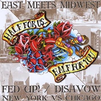 FED UP! / DISAVOW SPLIT CD