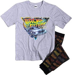 TDP Textiles Mens Back to The Future Pyjamas