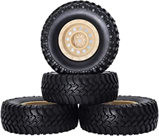 Best 1 10 scale rock crawler wheels and tires Reviews