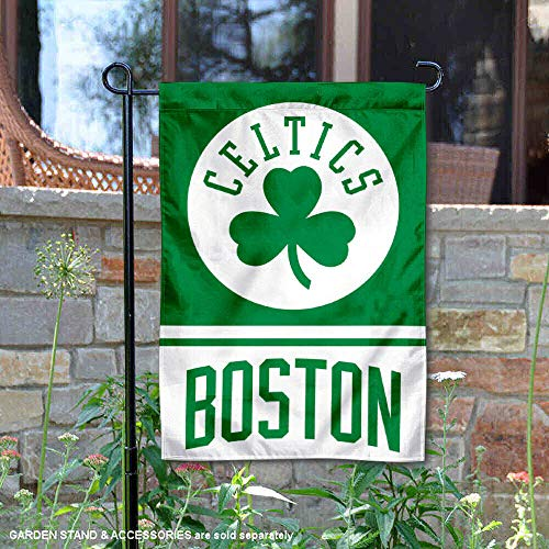 WinCraft Boston Celtics Double Sided Garden Flag