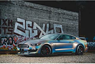 3M 1080 Satin Flip Psychedelic | SP281 | Vinyl CAR WRAP Film (5ft x 1ft (5 Sq/ft)) w/Free-Style-It Pro-Wrapping Glove