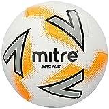 Mitre Impel Plus Training Football - White/Silver/Orange, 5