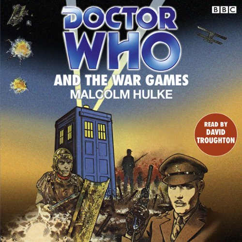 Doctor Who and the War Games cover art