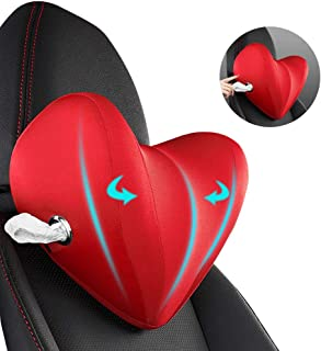QBUC Car Neck Pillow Memory Foam,Car Seat Neck Pillows for Driving Relieve Neck Pain and Muscle Tension, Used in Car Seat...