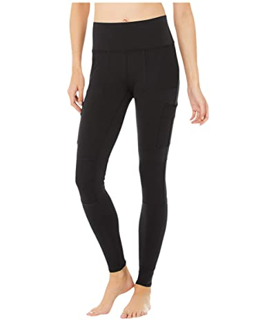 ALO High-Waist Cargo Leggings (Black) Women