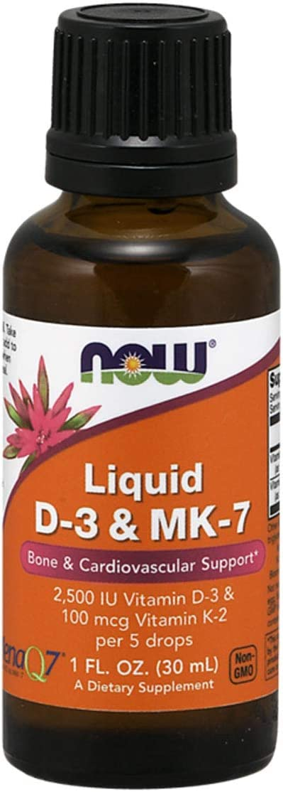 A surprise price Ranking TOP11 is realized NOW Supplements Liquid D-3 MK-7 with 2 IU Vitamin 1 500