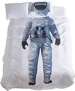DoMyfit Duvet Cover Set Astronaut Ballet Pattern Bed linens Twin Queen Size DIY Home Decor Bedding Sets for Girls Boys Kids Children