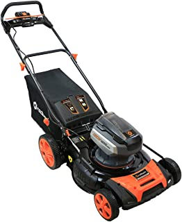 Redback Power   106648   21-Inch 120-Volt Cordless Push Lawn Mower   Brushless Smart Technology Motor   3.0 AH Battery Included