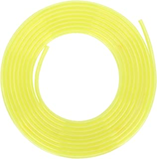 Brandstofleiding, 3 meter Gele slang Brandstofleiding Benzinebuis Grasmaaier Trimmer Accessoires(2 * 3.5mm)