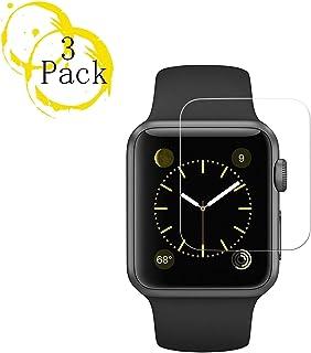 3Pack Apple 40mm Watch Screen Protector (40mm Series 4 Compatible) BBInfinite Full Coverage Anti-Scratch/Anti-Fingerprint/High Definition Screen Protector Compatible Apple Watch 40mm