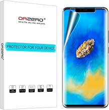 (3 Pack) Orzero Compatible for Huawei Mate 20 Pro HD (Premium Quality) Edge to Edge (Full Coverage) New Screen Protector, High Definition Anti-Scratch Bubble-Free (Lifetime Replacement Warranty)