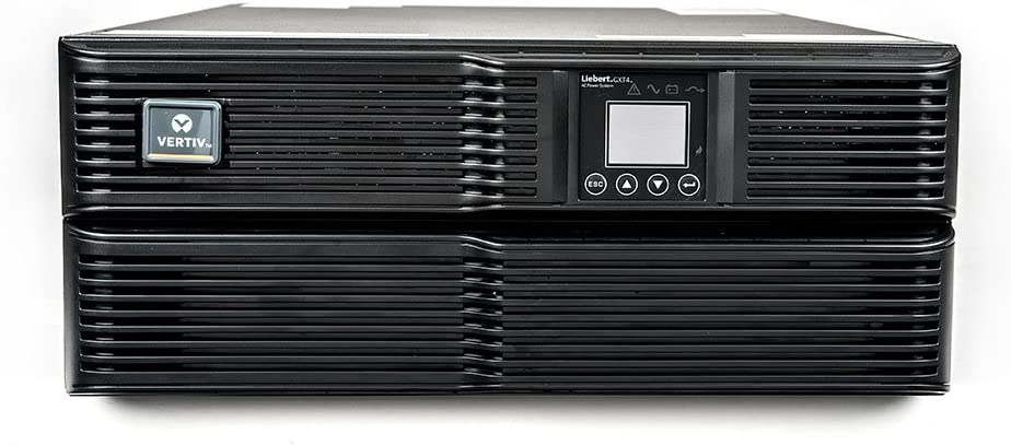 Liebert GXT4 UPS w/Network Card - 6000VA/4800W 208V/120V, Online Double Conversion Rack Mount/Tower UPS, Uninterruptible Power Supply, Sine Wave, AVR, Battery Backup(GXT4-6000RT208)