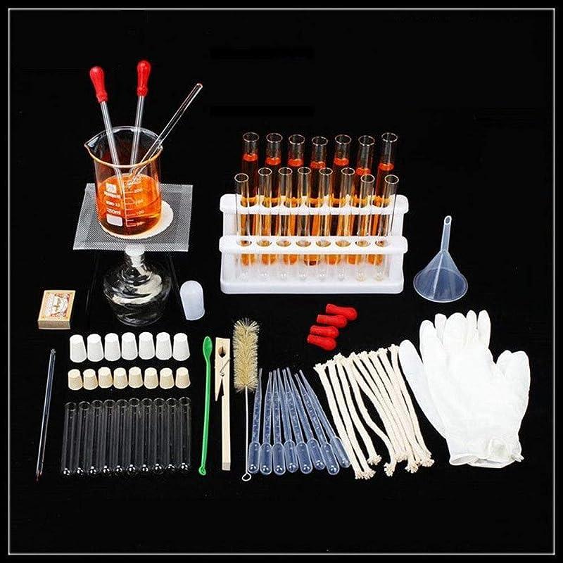 ずっと鎖腹部実験用化学ガラス機器キット、基礎科学三脚アルコールランプ試験管ラック加熱装置実験装置教育用品
