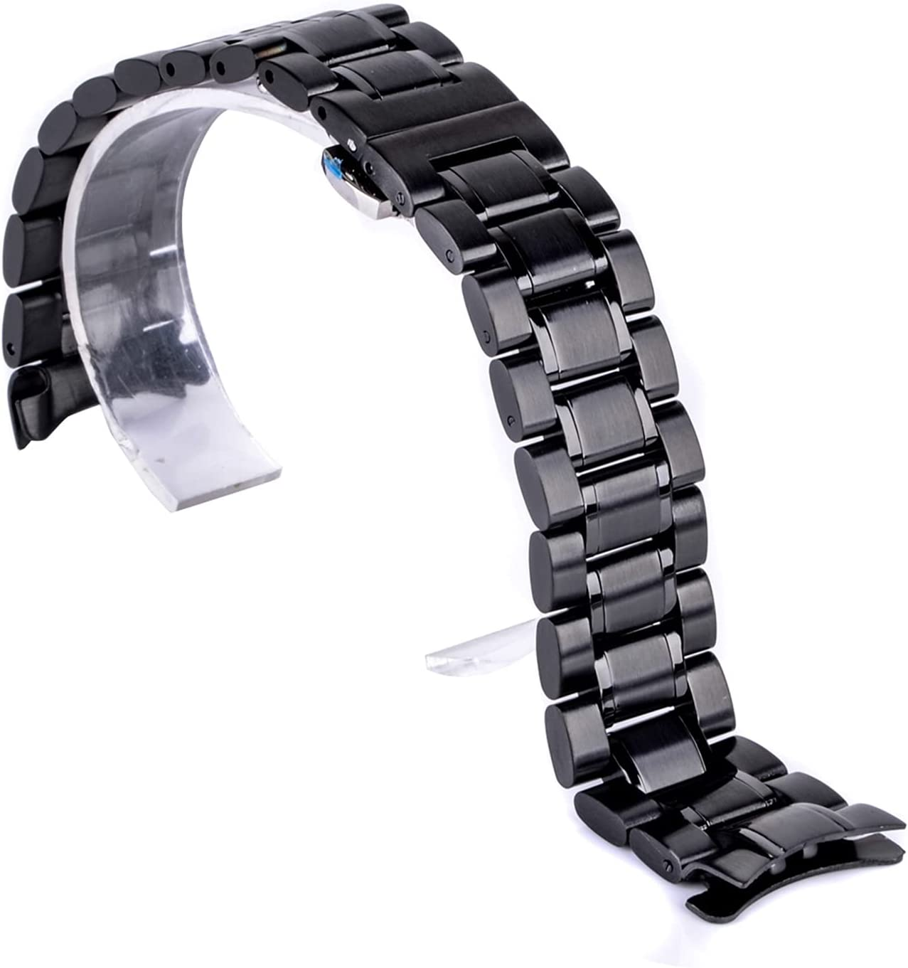 LXHY Special price for a limited time Watch Accessories Stainless Clasp Strap Cash special price Folding Steel
