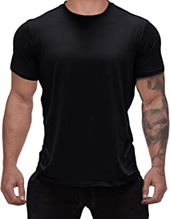 Magiftbox Mens Workout Gym Tee Short Sleeve Training Basic Casual T-Shirts for Bodybuilding Jogging