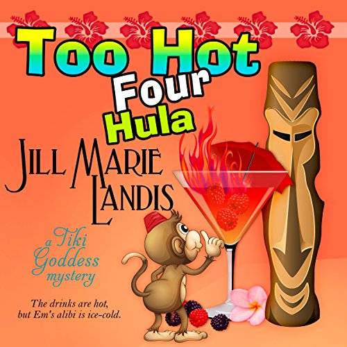 Too Hot Four Hula audiobook cover art