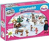 PLAYMOBIL 70260 Adventskalender Heidis Winterwelt, Ab 4 Jahren