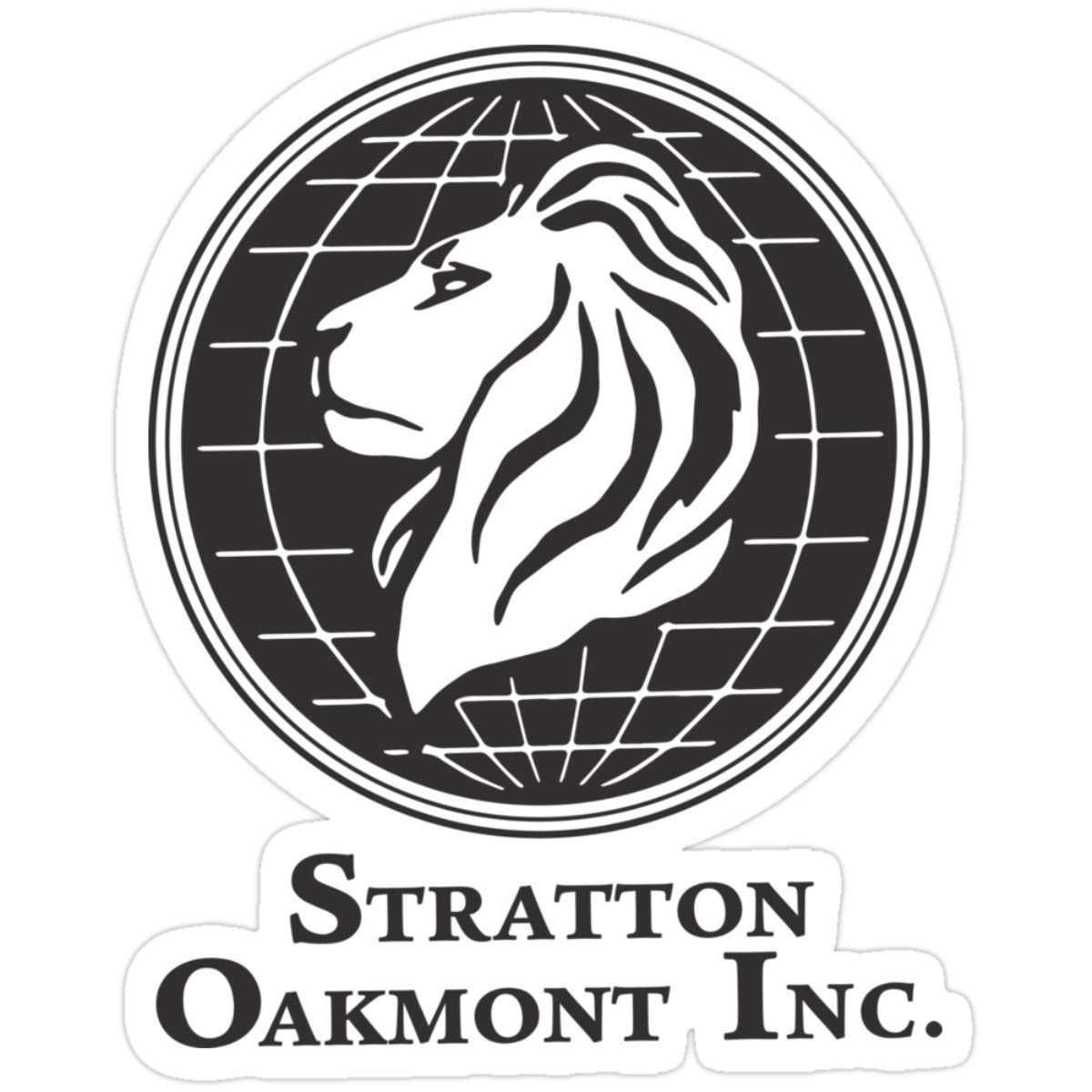 Stickers Stratton Oakmont T-Shirt Wolf Of Wall Street Tshirt Jordan Belfort Ludes T Shirt Movie Cult Gift Martin Scorsese Him Her Logo Stock Market (3 Pcs/pack) Water Bottle Decals 3x4 Inch: Amazon.es: