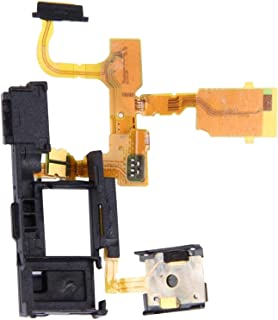 قطع غيار اصلاح الهاتف المحمول كابل مرن وزر الطاقة وسماعة الهاتف متوافق مع سوني إكسبيريا TX / LT29i / LT29