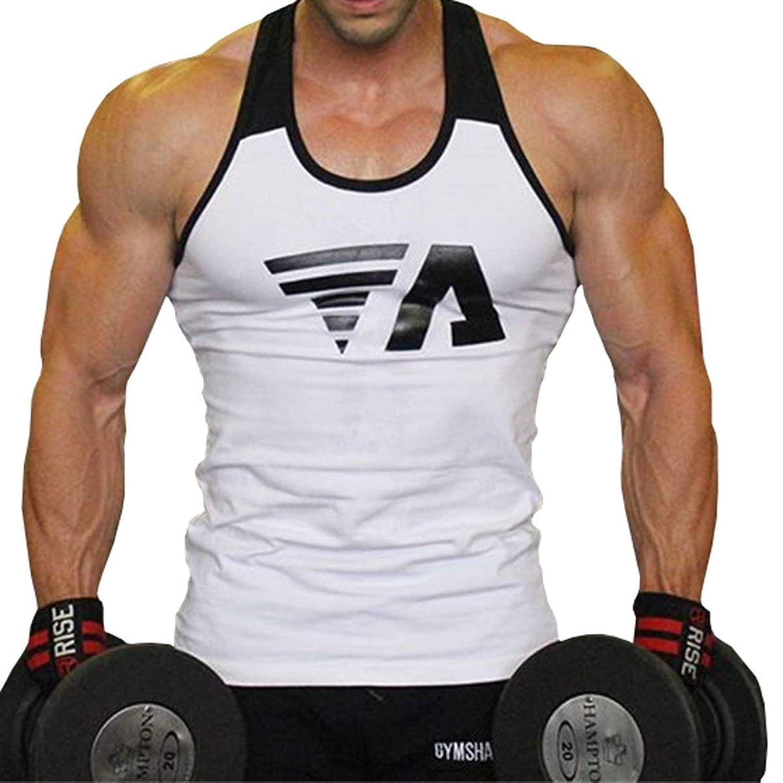 メンズ タンクトップ シャツ トレーニングタンクトップ ノースリーブ 速乾 ジョギング 筋トレ