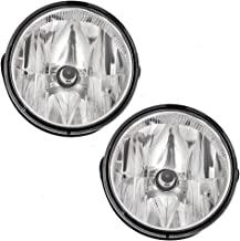 Fog Lights Lamps Pair Set of Replacements for 08-11 Ford Ranger Pickup Truck & 07-14 Expedition SUV AL1Z15200A