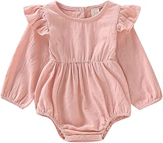 Best blush pink baby romper Reviews