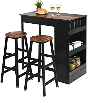 Amazon Com Kitchen Bar Table