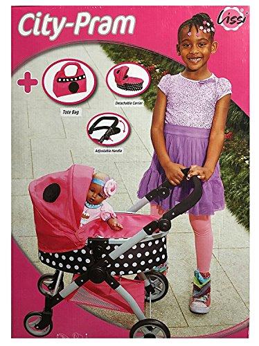Lissi City-Pram Multi-Color kids Play Stroller