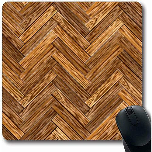 Mausepad Muster Braun Holz Holz Parkettboden Natur Paneel Deck Dunkel Laminat Design Makro Laptop Büro Gaming Mauspad Rutschfeste Gummi Langmatte 25X30Cm Mousepads