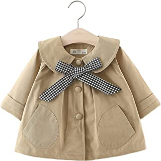Urtrend Baby Girl's Toddler Spring Fall Coat Jacket Outerwear