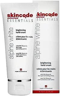 Skincode Essentials Alpine White Brightening Hand Cream made in Switzerland 75 ml