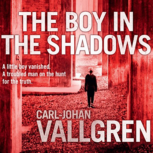 The Boy in the Shadows audiobook cover art