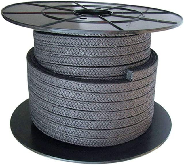 AFexm Flexible Graphite Compression Packing,Compression Packing Seal,18 x 18mm Length 8.2M