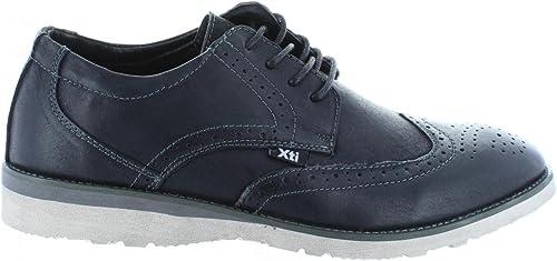 XTI Schuhe für Herren 45731 NOBUK schwarz