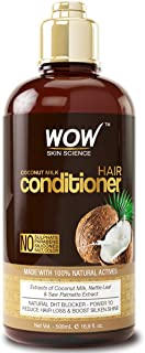 WOW Coconut Milk Hair Conditioner, Restore Dry, Frizzy, Tangled Hair to Stronger, Full, Shiny Hair, Stimulate Hair Growth,...