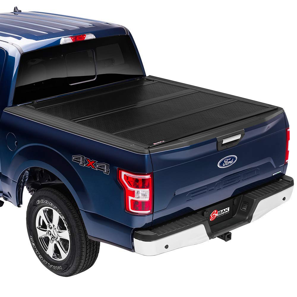 Amazon Com Bak Bakflip Fibermax Hard Folding Truck Bed Tonneau Cover 1126426 Fits 2016 20 Toyota Tacoma W Oe Track System 5 Bed Automotive