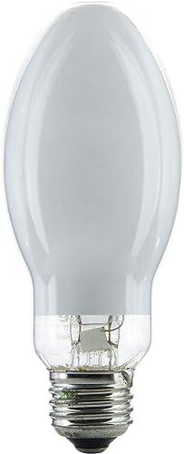 Sunlite 03675-SU MV100/DX/MED H38 Mercury Vapor Lamp, 100 Watts, Medium Base (E26), ED17, 6000 Hours Life, 4000 Lumen...